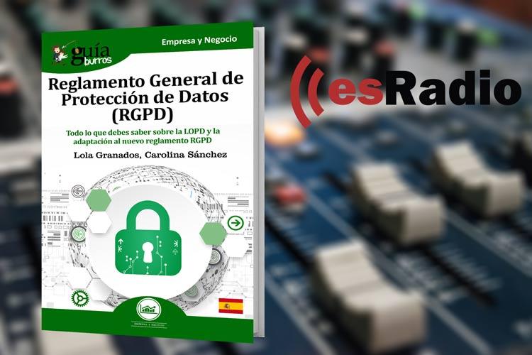 GuíaBurros: RGPD, en Mundo Emprende, en esRadio