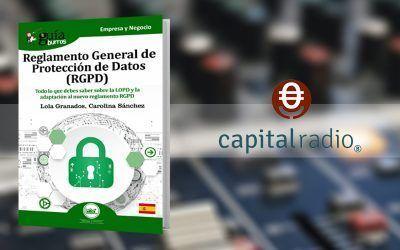 Lola Granados y Carolina Sánchez, autoras del GuíaBurros: RGPD en Franquicia2, en Capital Radio