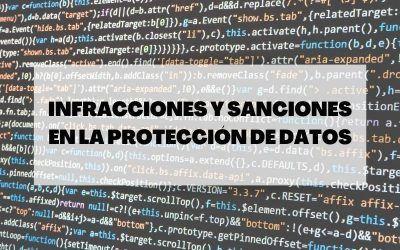 Infracciones y sanciones en la protección de datos: Derecho a indemnización y responsabilidad
